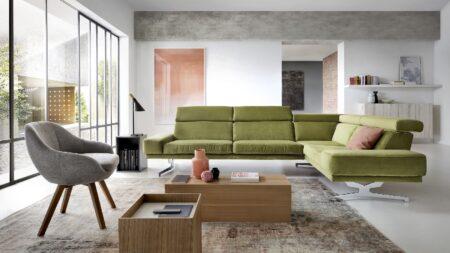 zielona kanapa